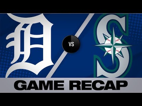Beckham, Vogelbach lead Mariners in 10-2 win | Tigers-Mariners Game Highlights 7/25/19