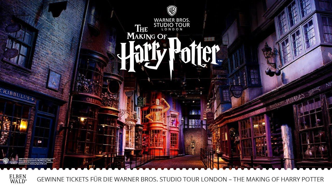 Gewinnspiel 1 X 2 Tickets Zur Warner Bros Studio Tour London The Making Of Harry Potter Inklusive Flug Und Hotel Elbenwald De