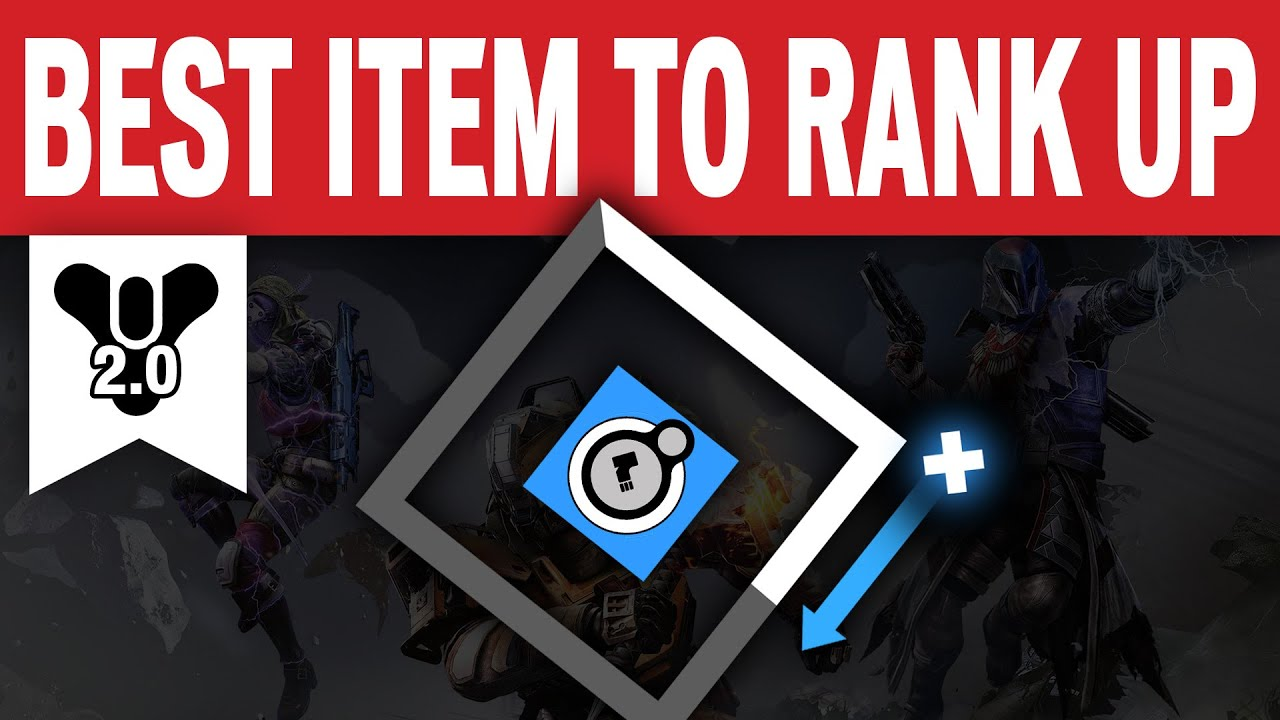 Destiny best item to rank up your faction level funny youtube