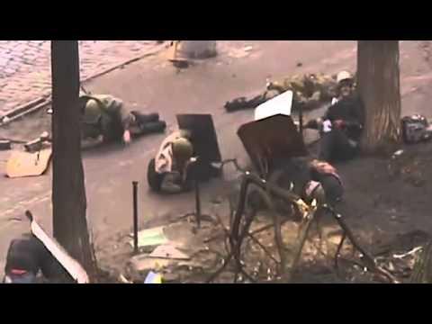 Ukraine: Video of Government Snipers' Massacre in Kiev