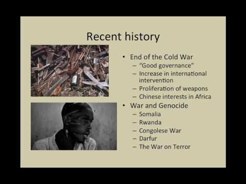 Flagler College HIS 363 Modern Africa: War, Genocide, AIDS, and Hope
