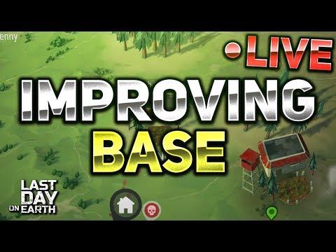 IMPROVING BASE, RAIDING! - Last Day on Earth: Survival LIVESTREAM