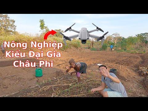 Dùng công nghệ cao vào phục vụ cho xóm trọ làm nông nghiệp||2Q Vlogs||Ahihi cuộc sống châu phi