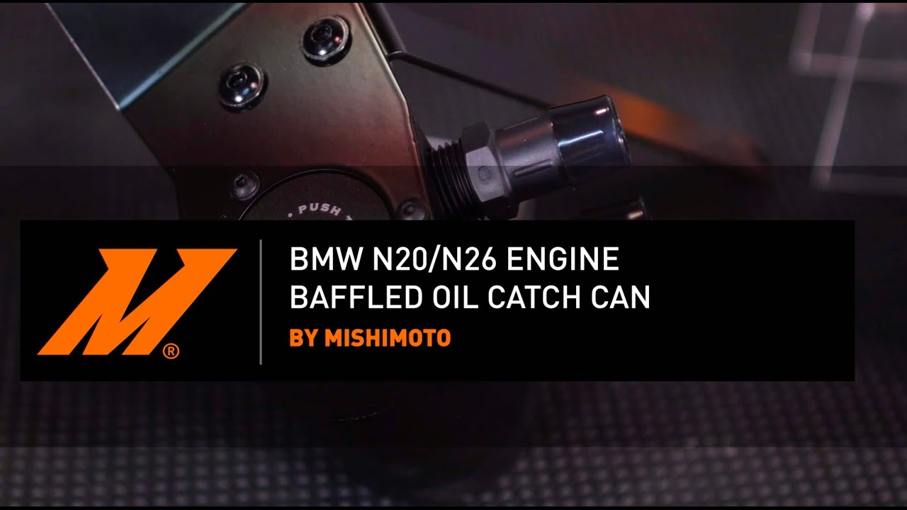 BMW N20/N26 Engine Baffled Oil Catch Can Features and Benefits By Mishimoto