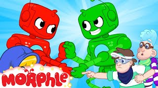 Morphle vs Orphle - Bad Banidts! | Superhero Videos | Cartoons for Kids | Morphle TV