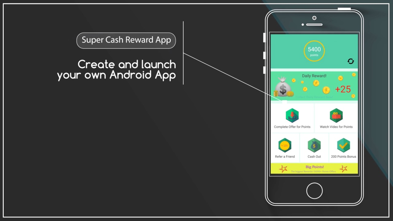 Android app source code download Cash Reward App - Playxem com