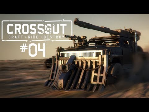 CROSSOUT #04 • Coya in Team ;-) • Crossout Gameplay German • Deutsch