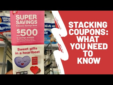 Walgreens Couponing | How to Stack Coupons | Store Coupons Vs. Manufacturer Coupons| Lesson One