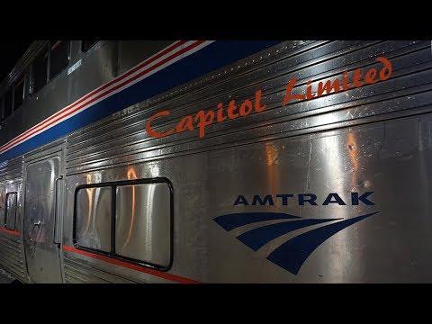 Amtrak train, The Capitol Limited, Washington DC to Chicago