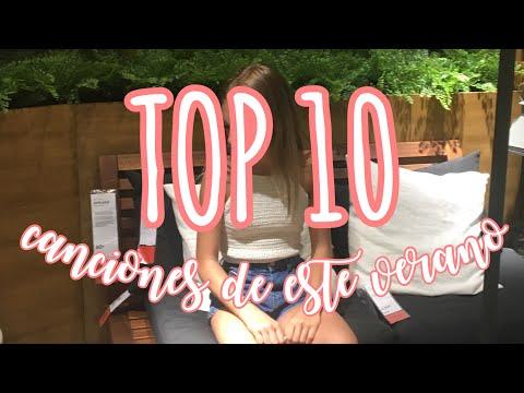 TOP 10 CANCIONES DE ESTE VERANO || ceeeeelia_yo