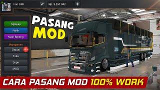 CARA PASANG MOD BUSSID 2021 100% WORK - MOD BUS SIMULATOR INDONESIA screenshot 3