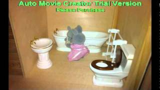 Sylvanian Children Off To Bed....