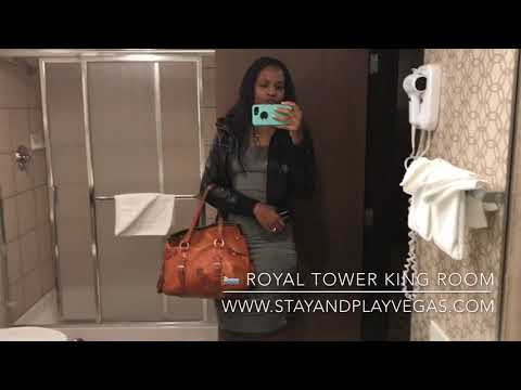 Excalibur Hotel & Casino Las Vegas | Virtual Room Tour ~ Royal Tower King Room