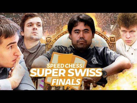 GM Hikaru Nakamura vs RUSSIA | Speed Chess Super Swiss Knockout FINALS