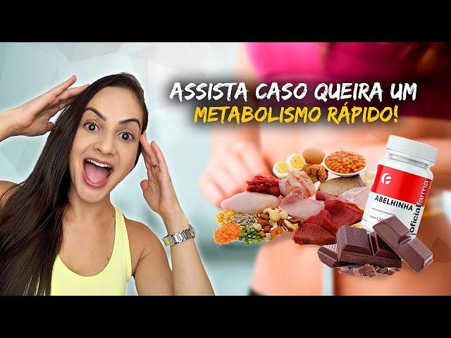 Alimentos e Suplementos que ACELERAM O METABOLISMO (e ajudam no EMAGRECIMENTO) #metabolismo