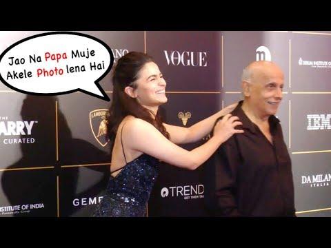 Alia Bhatt Fun With Her Father Mahesh Bhatt | Alia And Ranbir