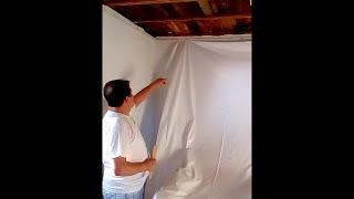 Монтаж у Алексея на даче ( Без газа, клиновой способ крепления )