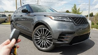2018 Range Rover Velar First Edition: Start Up, Exhaust, Test Drive and Review