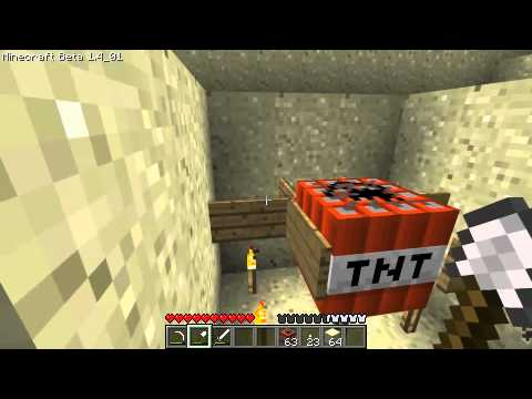 Minecraft - Tutorial: Deadly Sand Traps