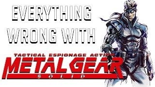 GamingSins: Everything Wrong with Metal Gear Solid