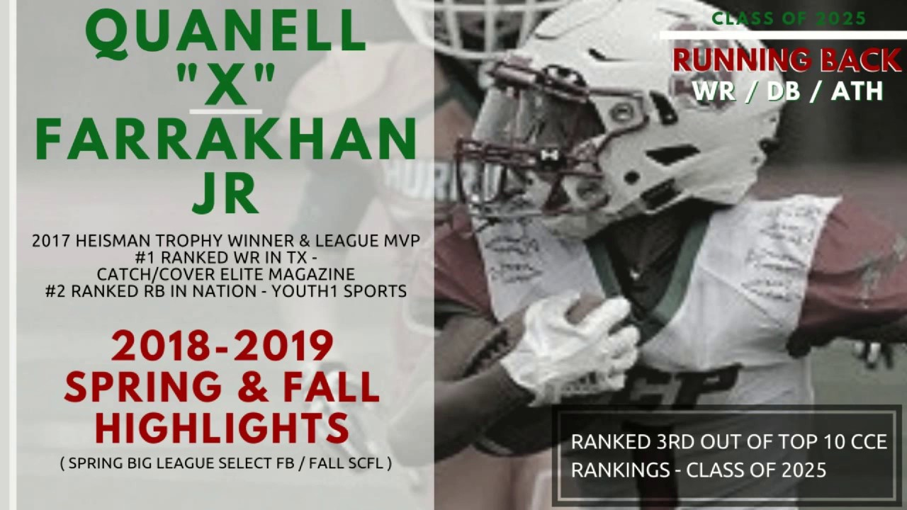 Profile - Football - Quanell