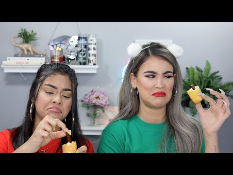 Weird Food Combination Challenge thumbnail