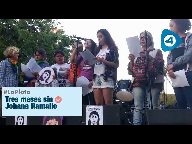 La Plata: tres meses de la desaparición de Johana Ramallo