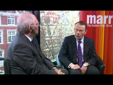 Wolfgang Schäuble bei Andrew Marr