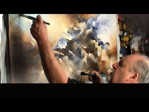 Painting The Edge Modern Contemporary Abstract Art Mix