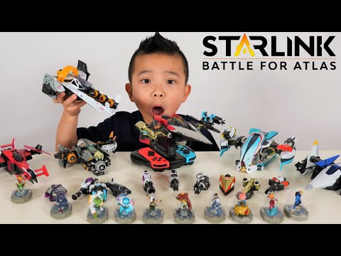 Complete Fleet STARLINK Battle For Atlas Toys Children Fun Game With CKN Toys