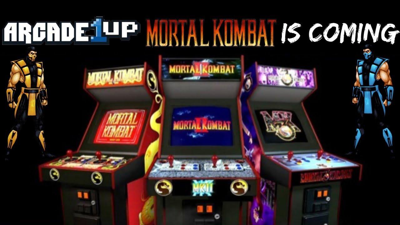 Arcade1Up Mortal Kombat Arcade Cabinets Are Coming?!