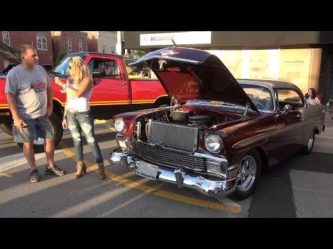1956 Chevy Belair - Morris Car show