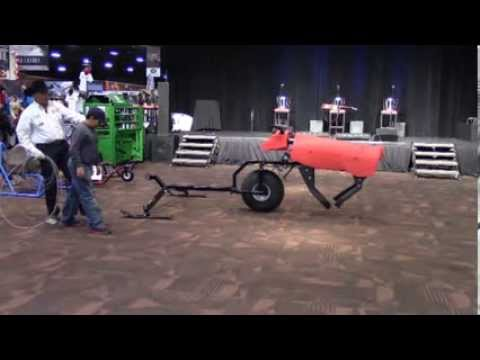 The Time Machine Roping Dummy With Walt Woodard Nrs At