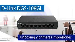 D-Link DGS-108GL: Conoce el mejor switch para casa con 8 puertos Gigabit Ethernet
