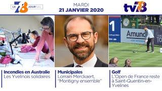 7/8 Le Journal. Edition du mardi 21 janvier 2020