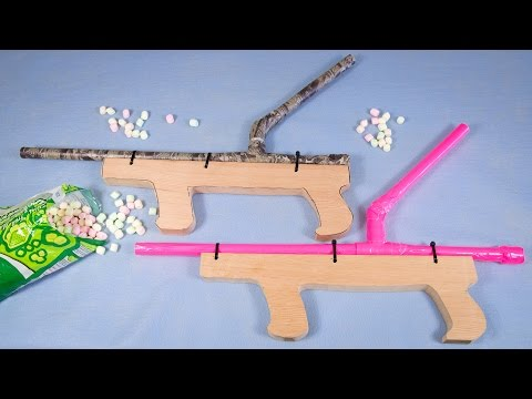 How To Make Marshmallow Shooter From Co Es Cupcakes And Cardio