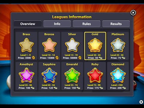 Win Every League In 8 Ball Pool (2017)