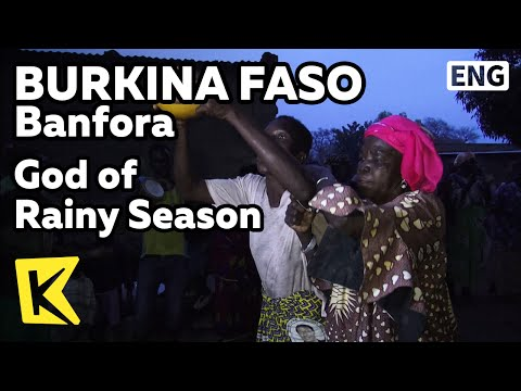 【K】Burkina Faso Travel-Banfora[부르키나파소 여행-방포라]우기의 신 감사 축제/God of Rainy Season/Festival/Dance/Food