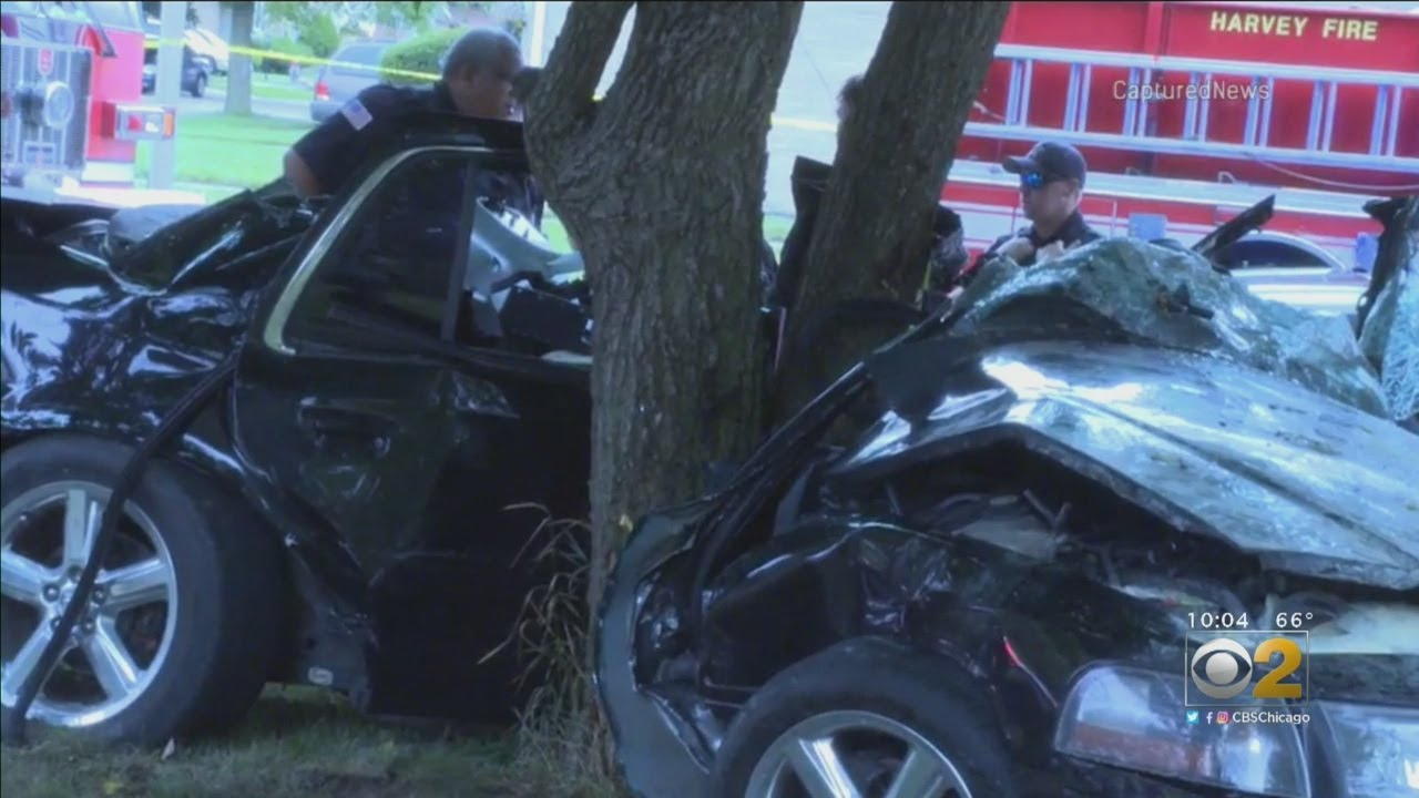 Neighbors Rush To Rescue After Dolton Crash