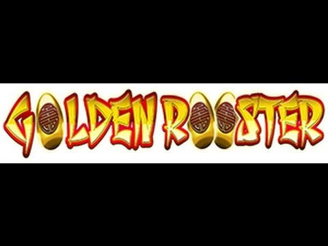 Golden Rooster - Huge 5 Symbol Line Hit + Re-trigger - Nice Win!