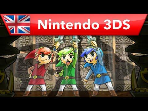 The Legend of Zelda: Tri Force Heroes -  Launch Trailer (Nintendo 3DS)