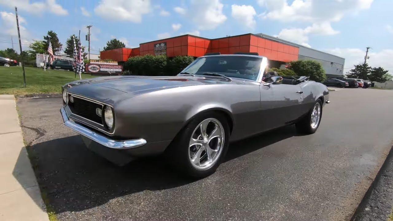 1968 Chevrolet Camaro Convertible Restomod For Sale