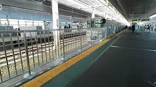 【新越谷駅のホームドアは7両編成】東京メトロ13118f 新越谷発車
