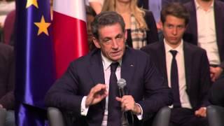 Le meeting de Nicolas Sarkozy à Vélizy