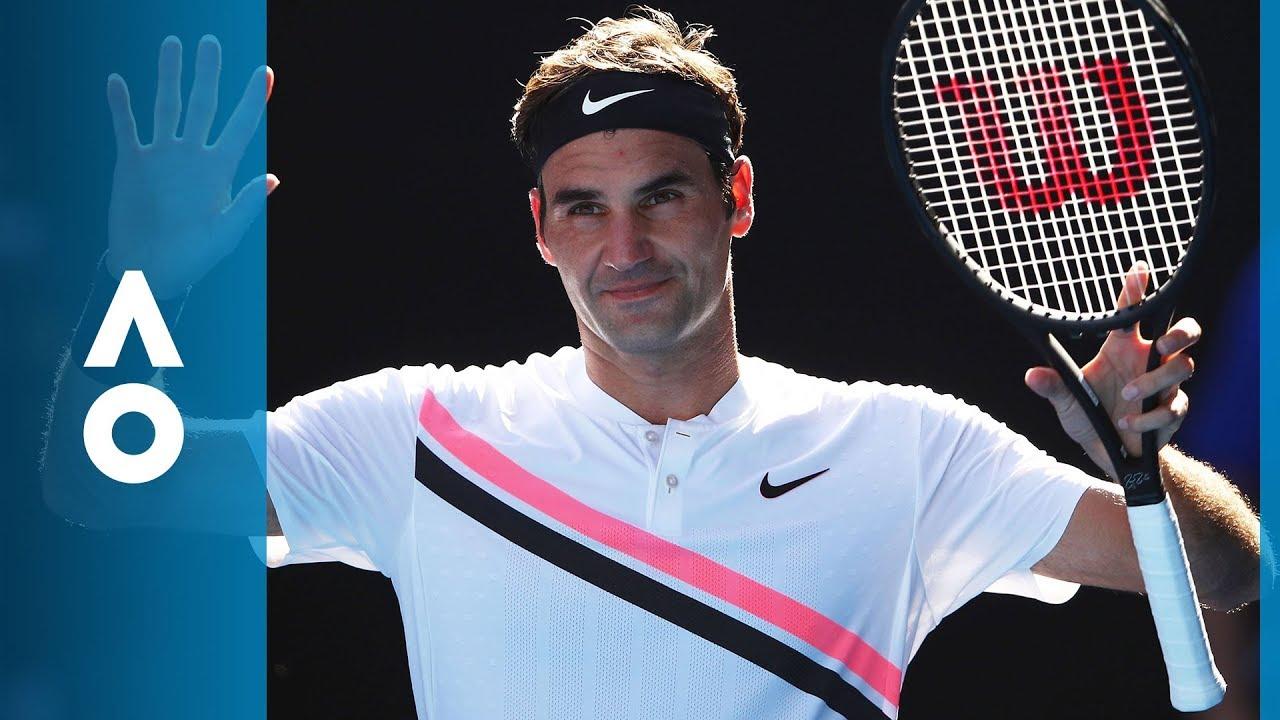 62a681d8 Marton Fucsovics v Roger Federer match highlights (4R) | Australian Open  2018
