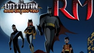 Retro Mondays - Batman Rise of Sin Tzu Review