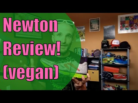 Review: Vegan Friendly Newton Distance Running Shoes