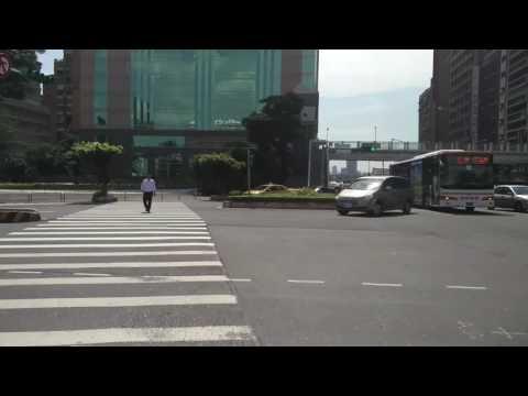 Taipei vlog riding the youbike rental past taipei main station