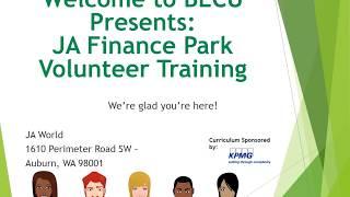 JA Finance Park Volunteer Training