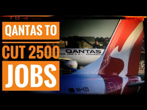 Qantas Plans To Cut Another 2500 Jobs